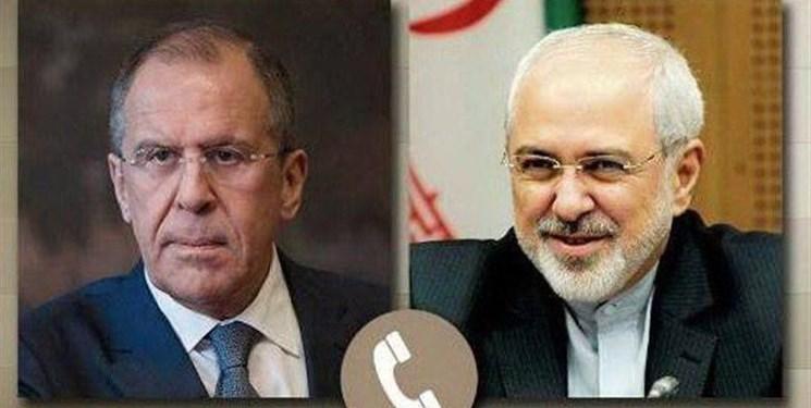 گفتوگوی تلفنی ظریف و لاوروف درباره برجام، سوریه و قره باغ