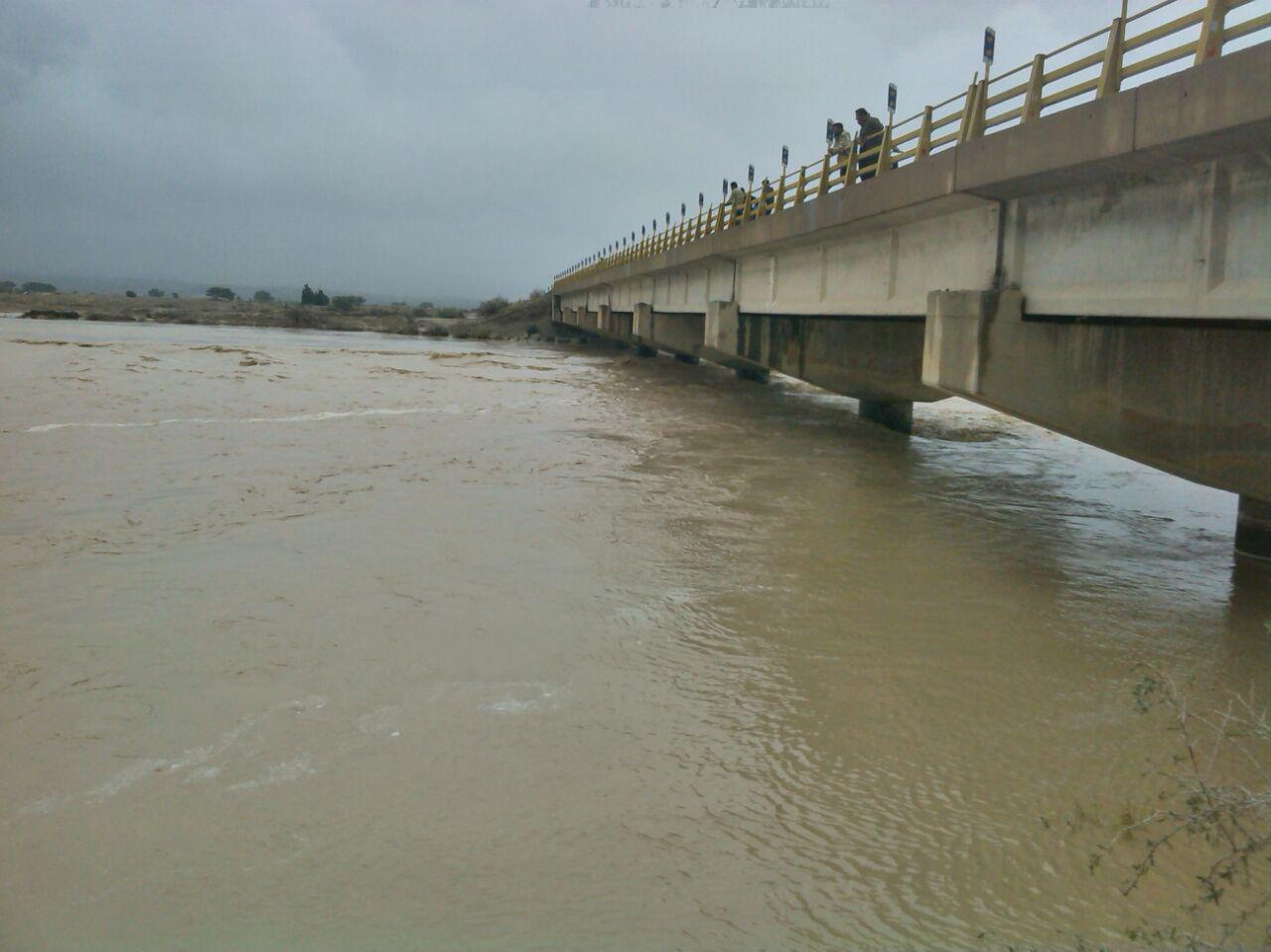میانگین بارش در بوشهر به ۳۳ میلیمتر رسید