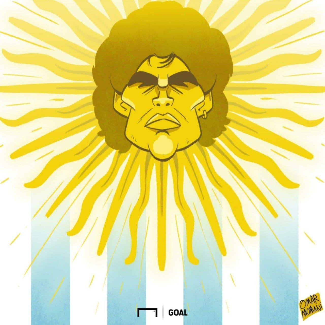 طرحی برای مارادونا