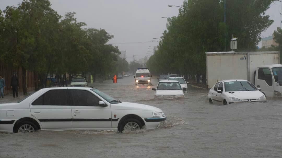 ۶ روز بارانی پیشروی بوشهریها؛ خلیج فارس مواج است