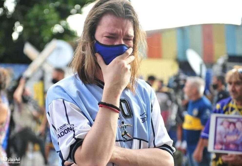 عکس/ مردم آرژانتین در سوگ مارادونا