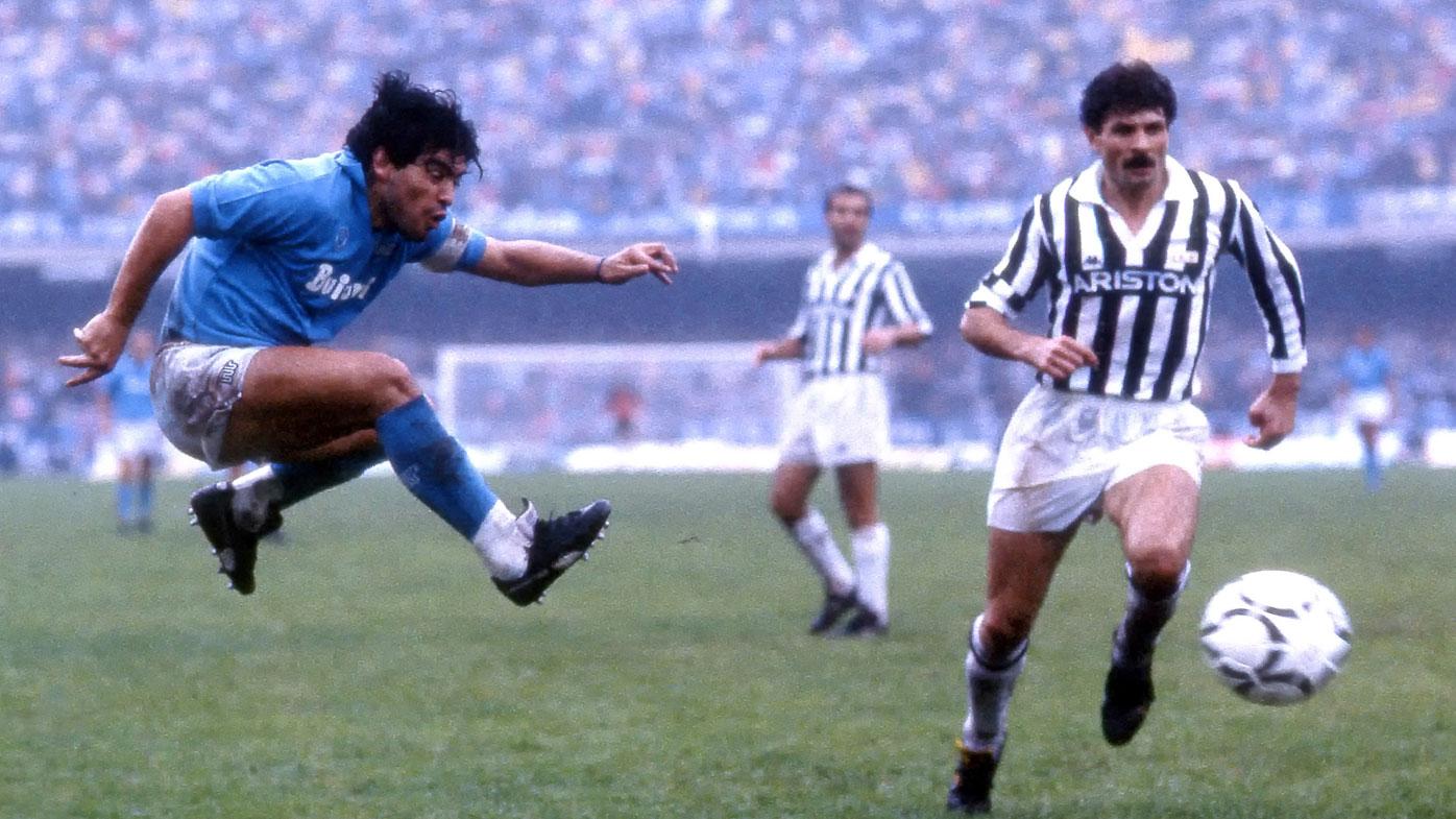 مارادونا برای همه ناپولیها قهرمان بود