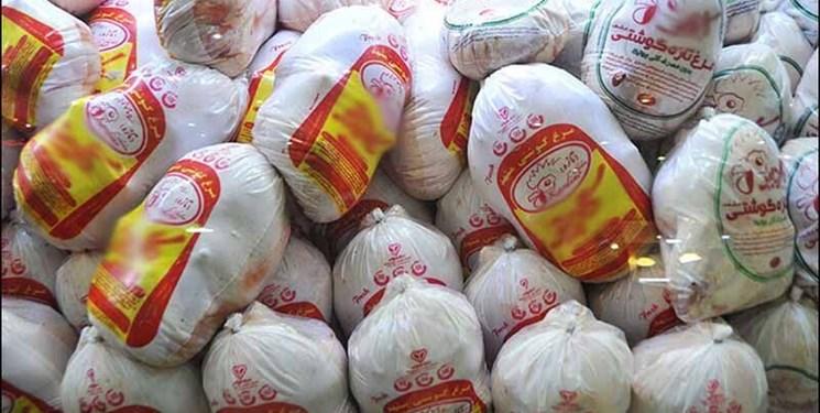 توزیع ۵۷ تن مرغ منجمد دولتی در فردیس