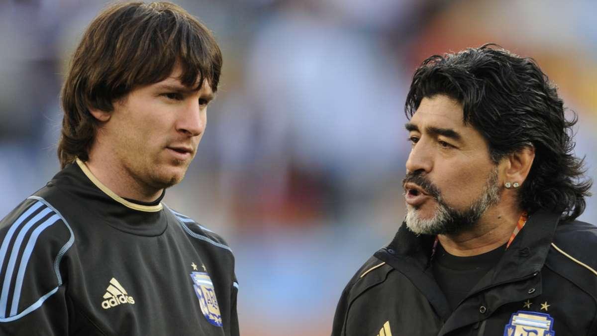 مسی و رونالدو، مارادونا شدن را در خواب هم نمیبینند
