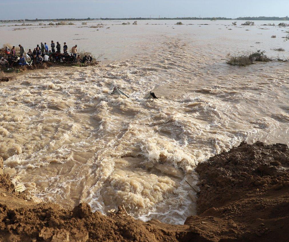 نگرانی از فعال شدن مسیلها و رودخانههای فصلی در خوزستان