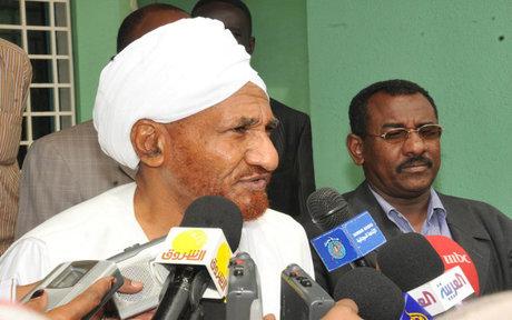 گمانه زنی ها درباره جانشین صادق المهدی در سودان