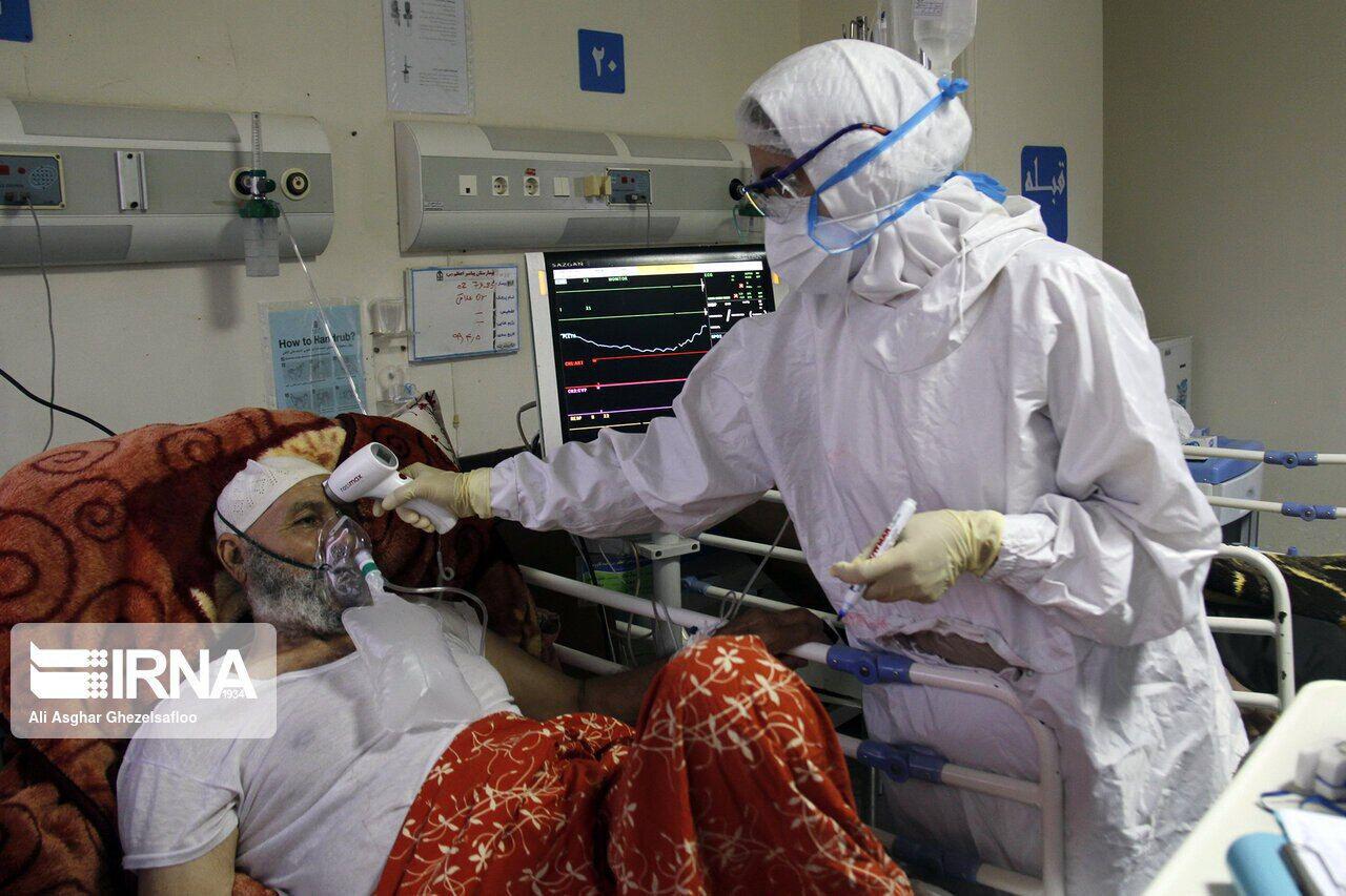 کاهش بستری بیماران کرونایی در بیمارستانهای همدان