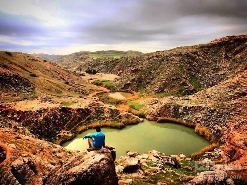 دریاچه دوقلو سیاه گاو، آکواریوم طبیعی ایران