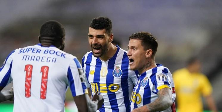 لیگ پرتغال/ پیروزی پورتو در حضور طارمی