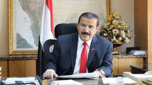 پیام تسلیت وزیر خارجه یمن به ظریف