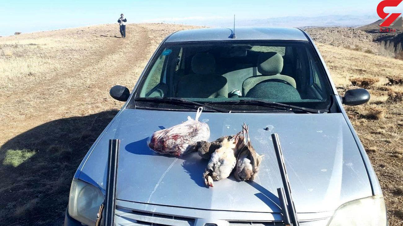 دستگیری ۸ شکارچی متخلف در آذربایجانغربی