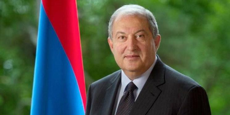 رئیسجمهور ارمنستان به روسیه سفر کرد