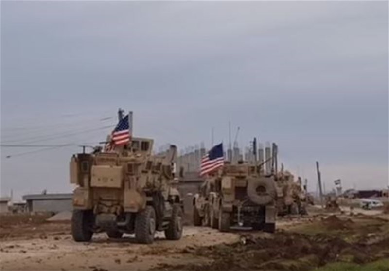 انتقال ۲۵ خودروی نظامی آمریکا از شمال سوریه به عراق