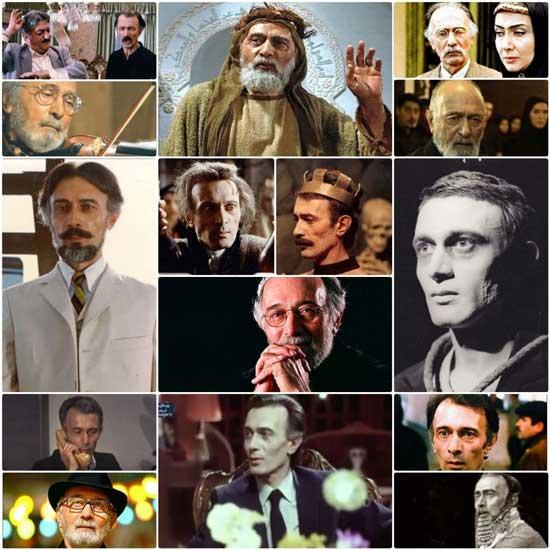 پرویز پورحسینی در طول 5 دهه فعالیت هنری