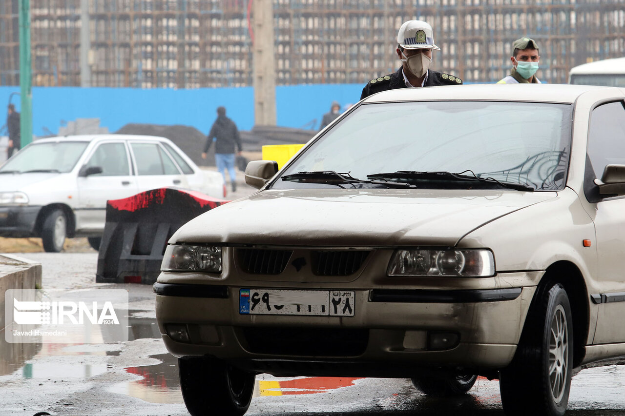 جریمه یک میلیونی ۶۴۶ راننده متخلف در همدان