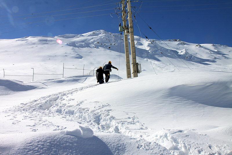 مشکل قطعی برق ۱۹ روستای سقز رفع شد