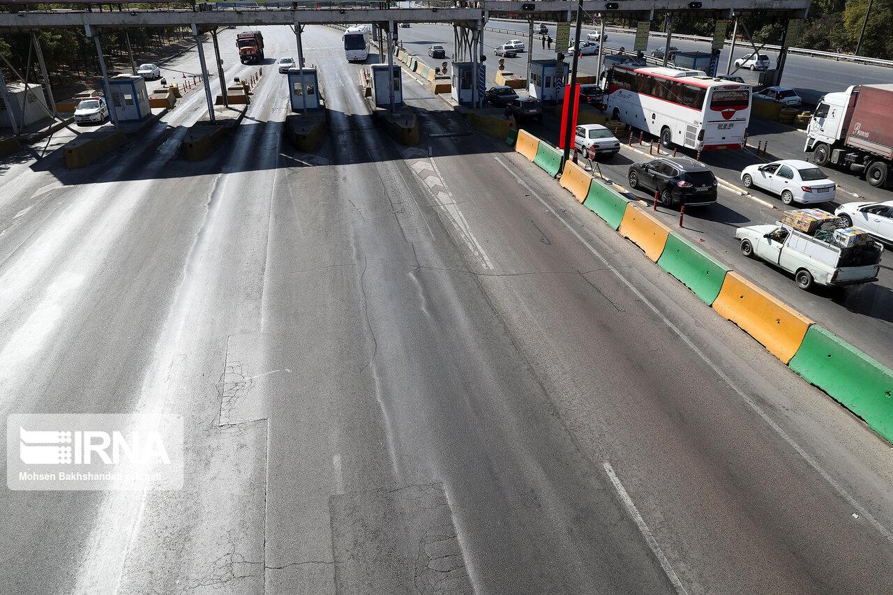 ۱۲۰۰ دستگاه خودرو از جادههای خراسان رضوی برگشت داده شدند