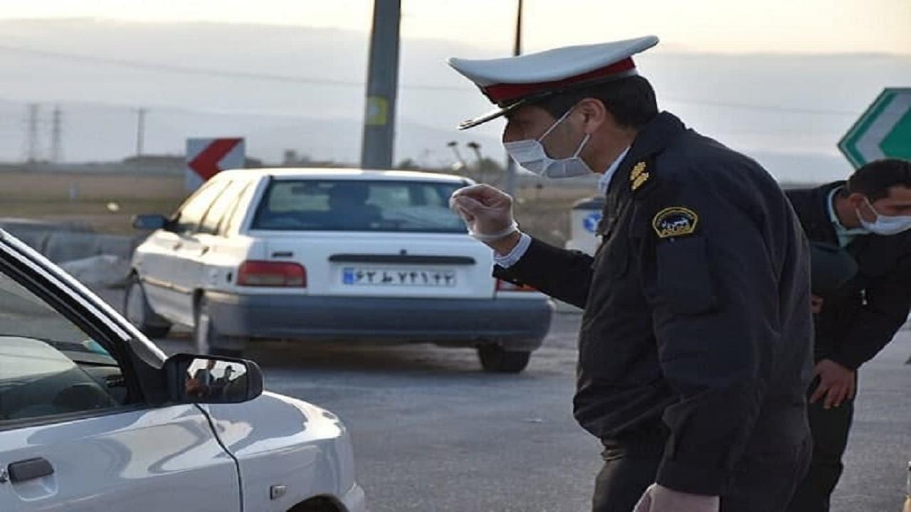 جریمه کرونایی ۶۵۰ خودرو در مازندران
