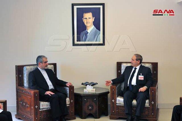 رایزنی سفیر ایران با وزیر خارجه جدید سوریه