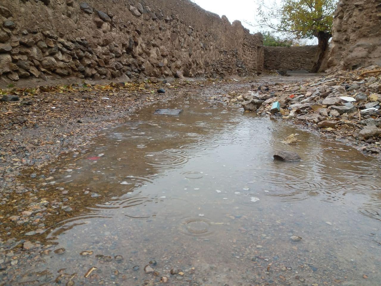 تداوم بارشهای پاییزی در استان یزد