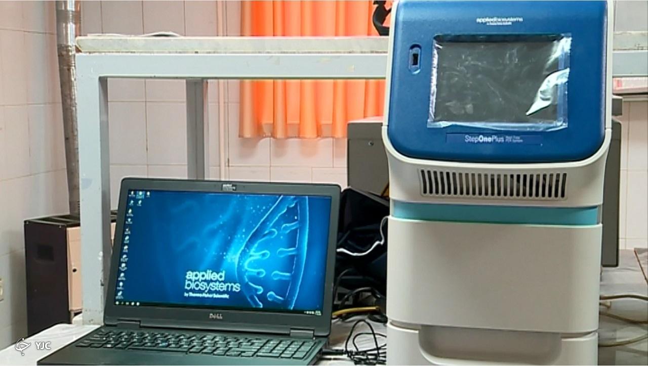 افتتاح آزمایشگاه تشخیص مولکولی کرونا در خمین