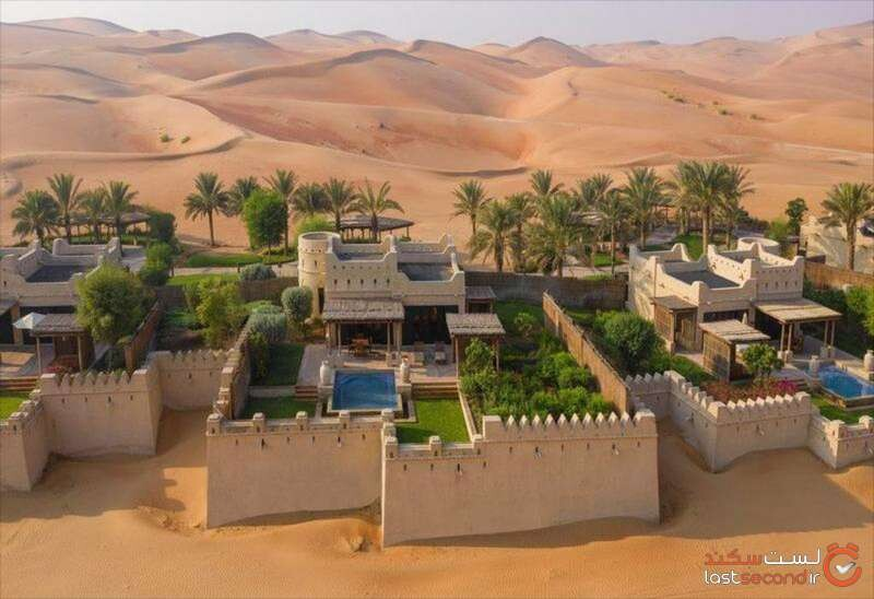 ماجراجویی باشکوه در استراحتگاه و هتل کویری قصر السراب