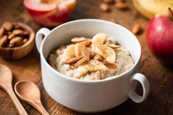 صبحانه/ اوتمیل صبحانه سالم و کم کالری