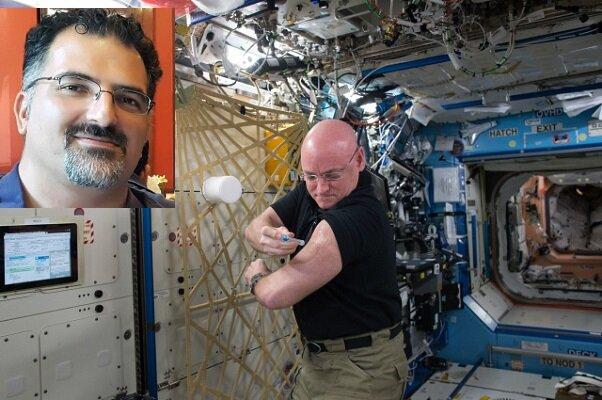 محقق ایرانی علت بیماری فضانوردان در فضا را کشف کرد