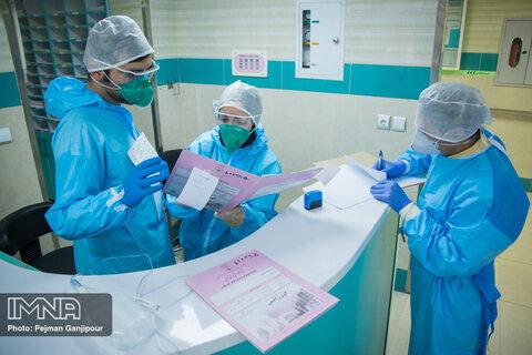 ابتلای ۶۰ نفر از پرسنل بیمارستان شهید بهشتی کاشان به کرونا