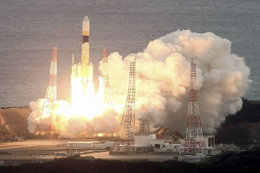 ماهواره جدید ژاپن با موفقیت به فضا پرتاب شد