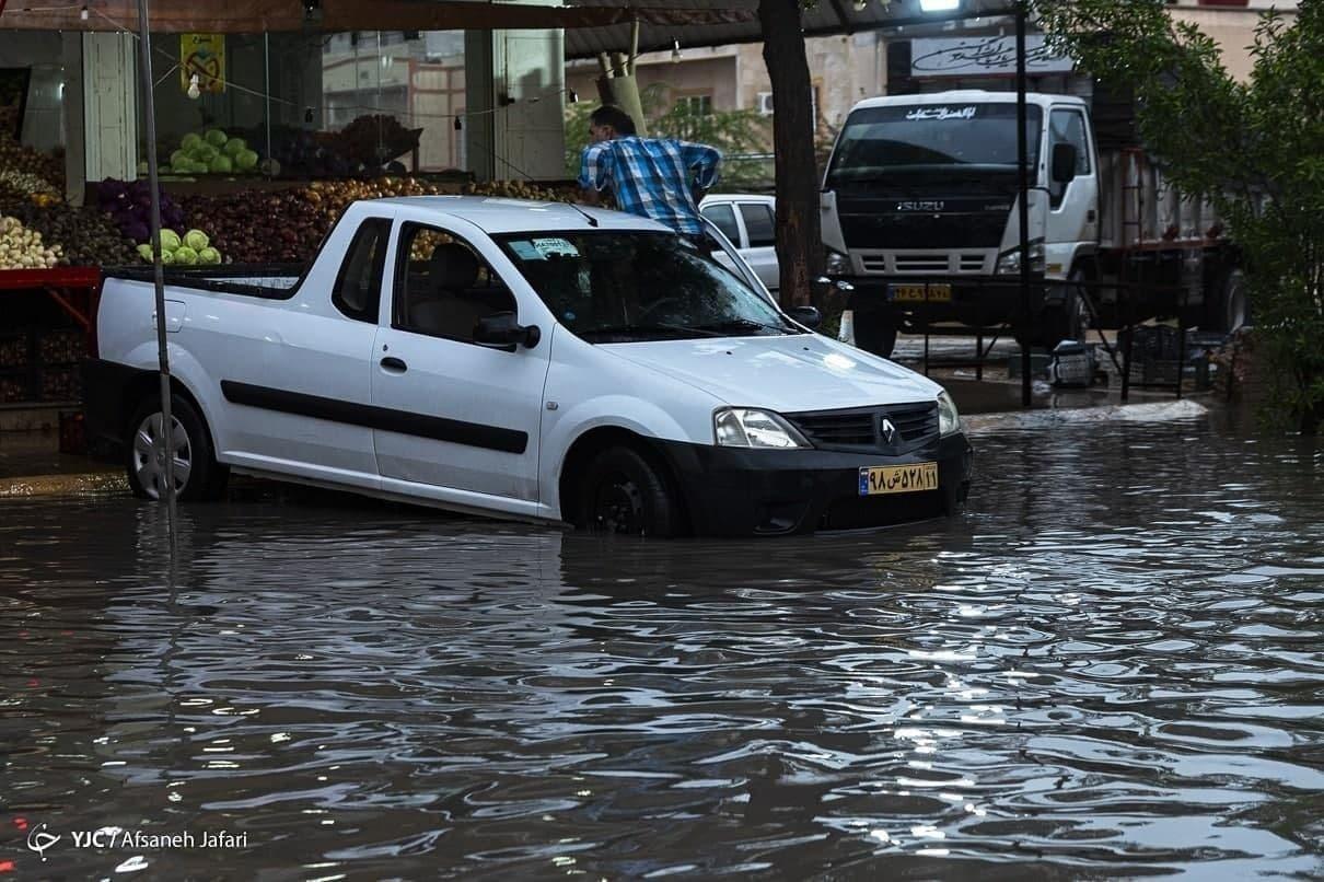 باران شدید در استان بوشهر خسارت چندانی به دنبال نداشت