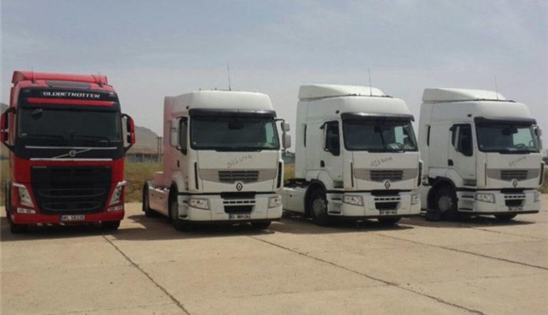 دستور رئیسجمهوری برای ترخیص دو هزار کامیون صادر شد