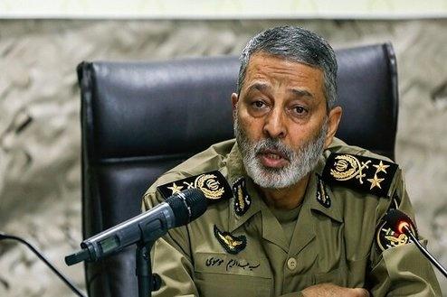 فرمانده ارتش: پیروز نهایی ملت ایران است