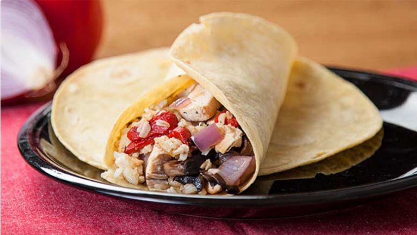 بوریتو یکی از انواع غذاهای ملی مکزیک
