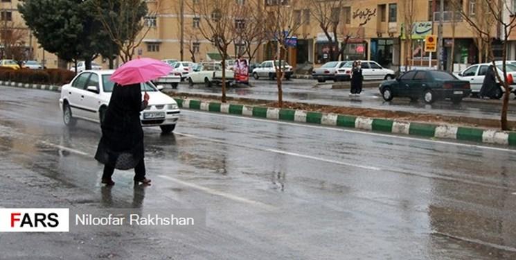 ورود مجدد سامانهٔ بارشی از چهارشنبه به استان قزوین