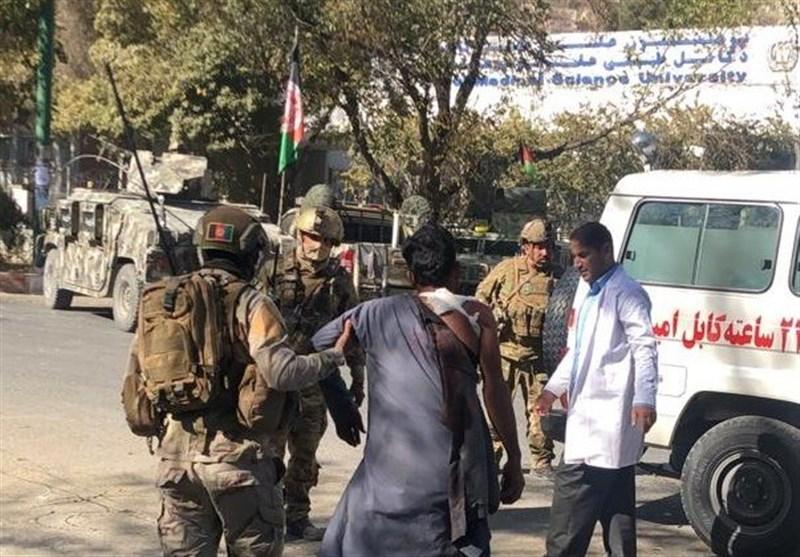 اشرف غنی قصاص عاملان حمله به دانشگاه کابل را خواستار شد
