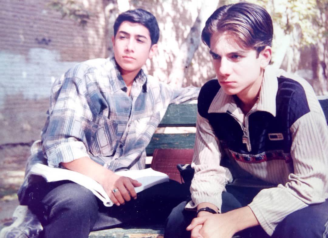 چهره ها/ عکس 20 سال قبل حسین مهری و عباس غزالی