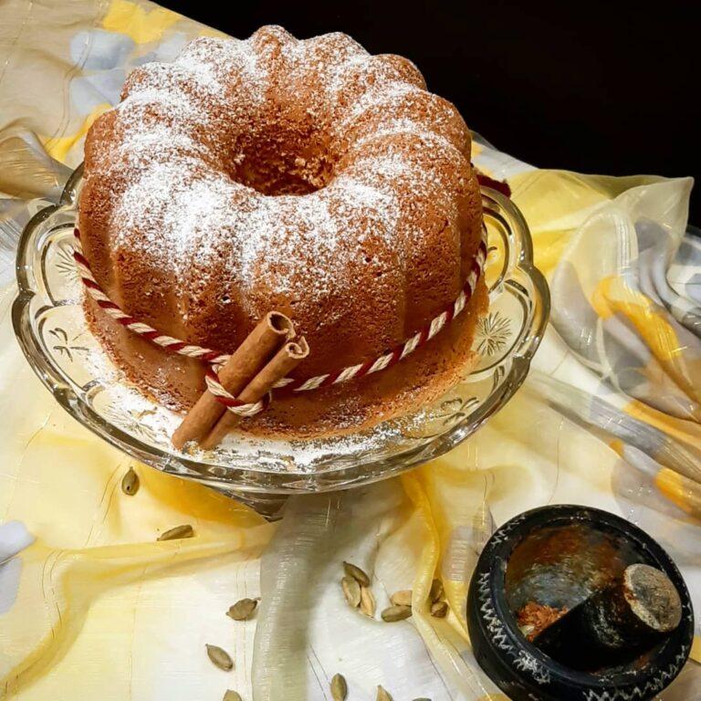 شیرینی ها/ کیک هل و دارچین خانه را معطر می کند