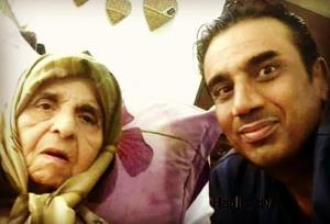 چهرهها/ نصرالله رادش در کنار مادر نازنیناش