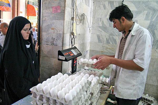 روزانه ۲۰ تن تخممرغ در بازار همدان عرضه میشود