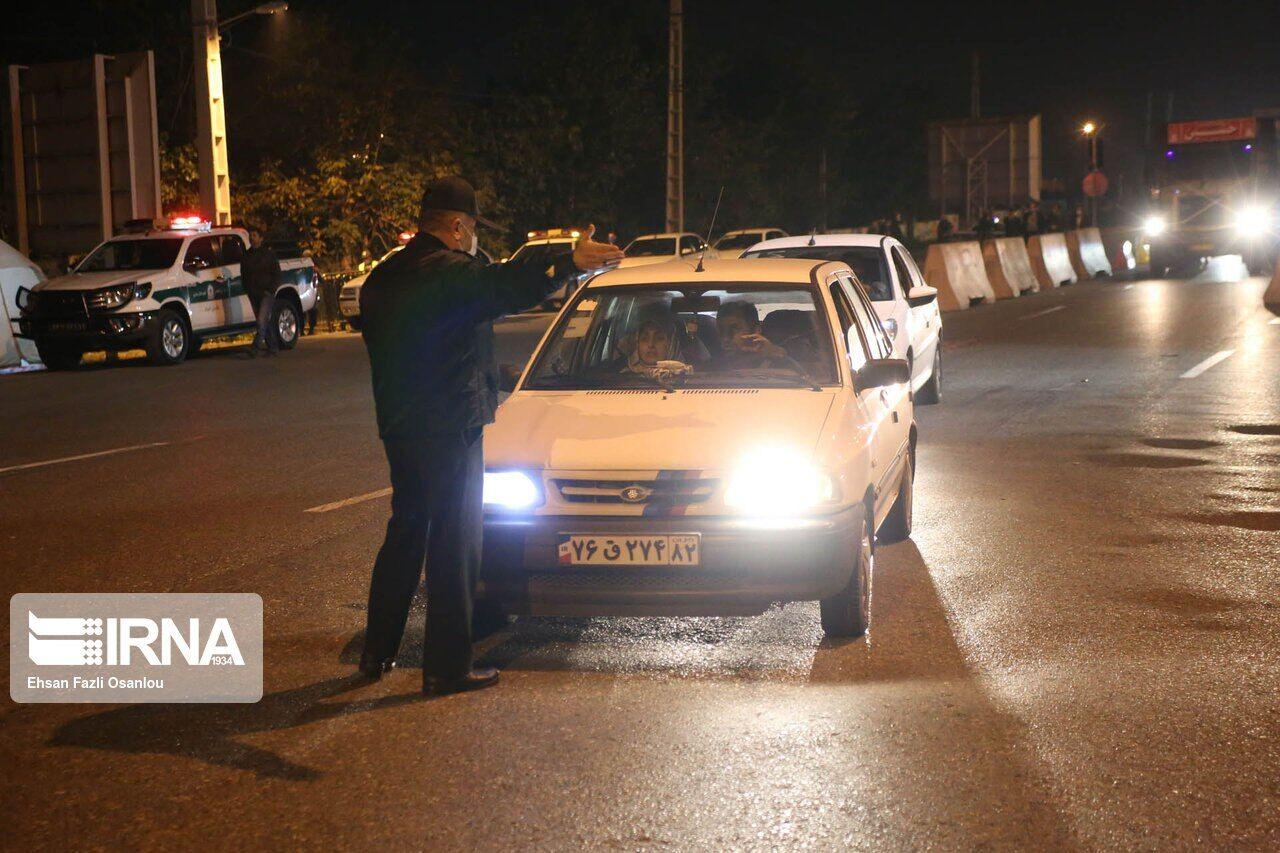 محدودیتهای شبانه در مشهد برای مقابله با کرونا همچنان ادامه دارد