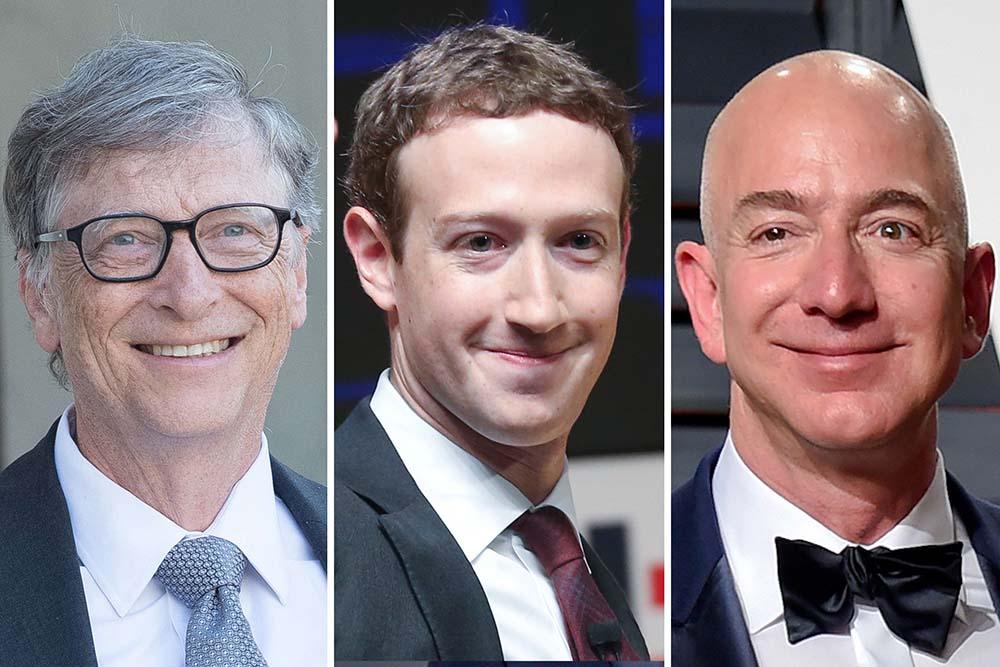 لیست ثروتمندترین مردان جهان در سال ۲۰۲۰