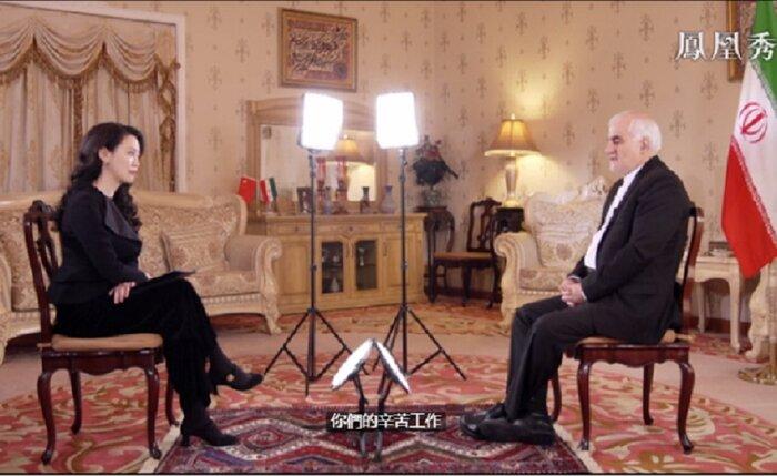 امیدواری ایران به گسترش روابط با چین در سال 2021