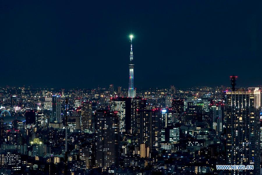 تصاویری جالب از «توکیو» در شب