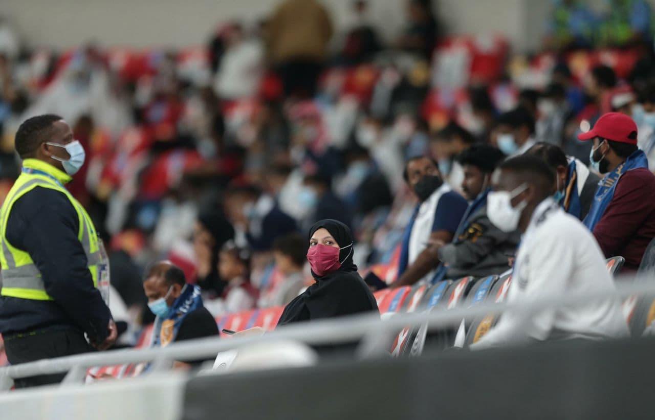 تماشاگران ویژه در فینال امیرکاپ قطر
