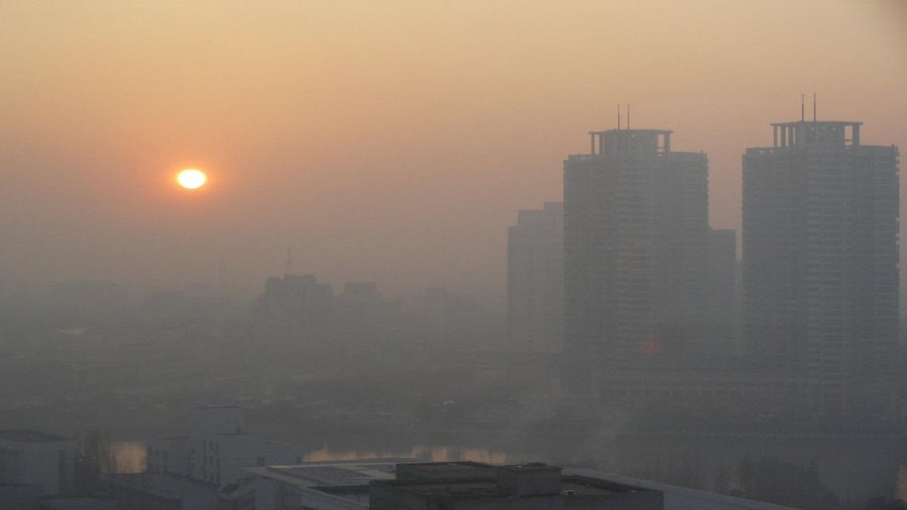 البرز همچنان در آلودگی هوا