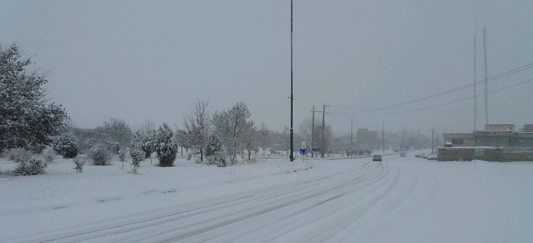 بارش برف در برخی مناطق آذربایجانشرقی