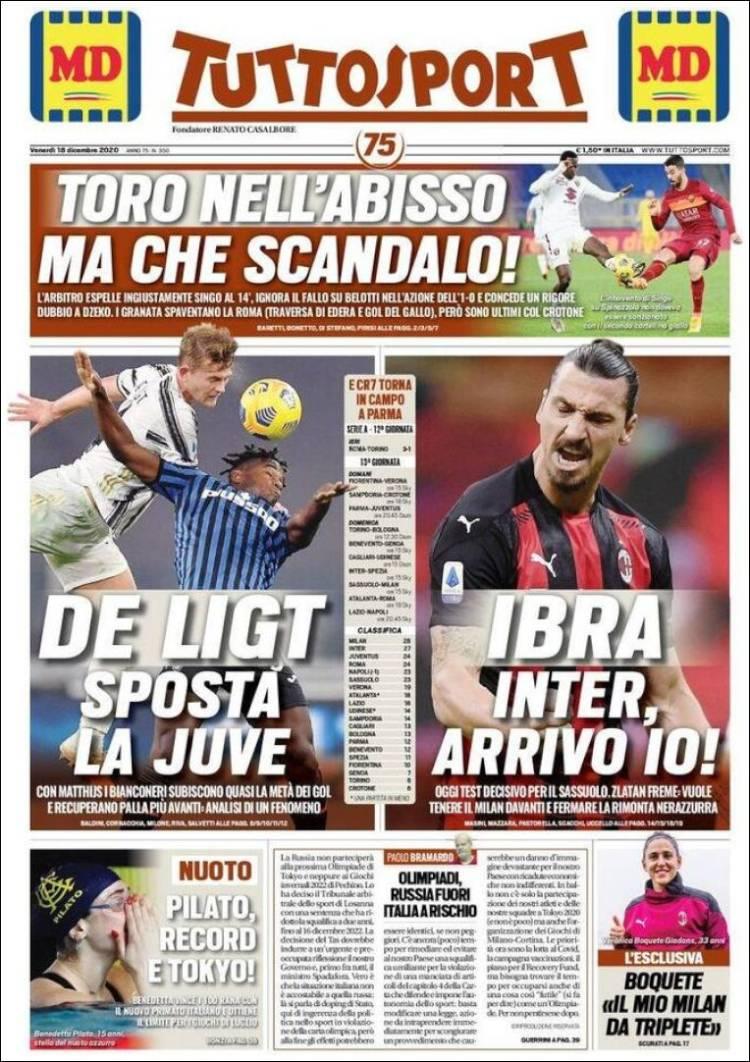 صفحه اول روزنامه توتو اسپورت