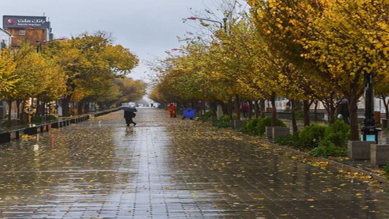 بارش باران در همه نقاط استان اصفهان تا یکشنبه ادامه دارد