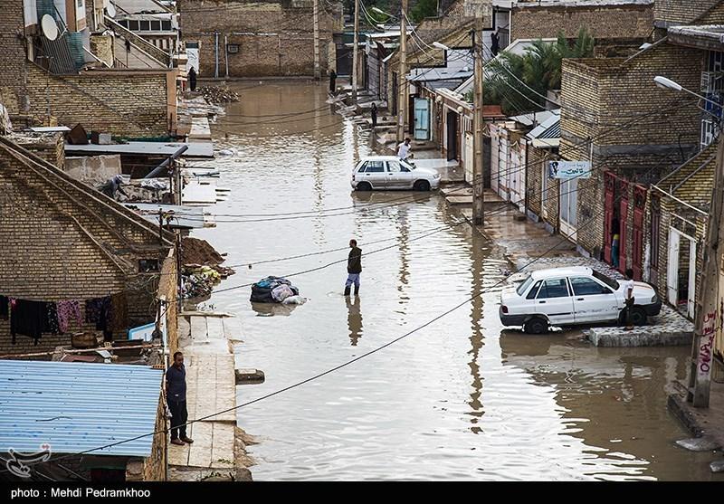 آخرین وضعیت خوزستان پس از بارش برف و باران